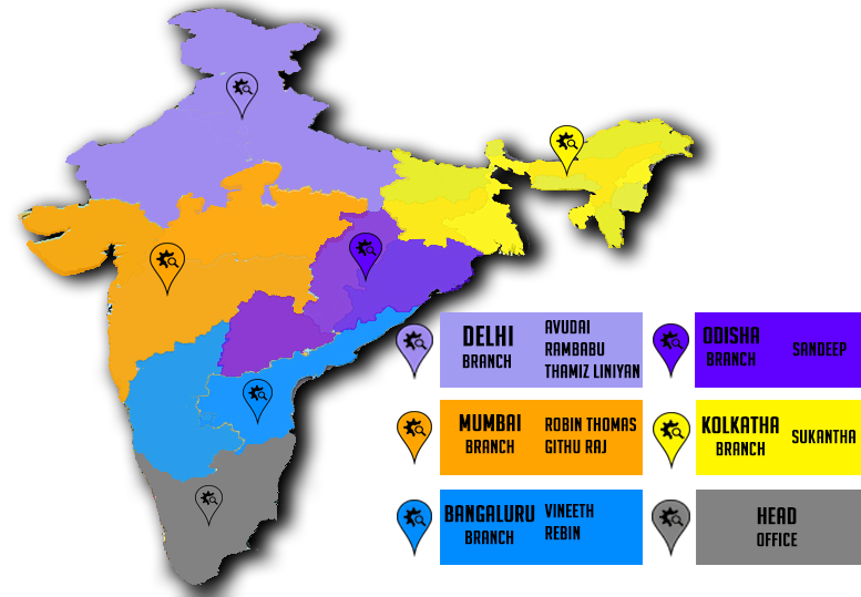 Service map india